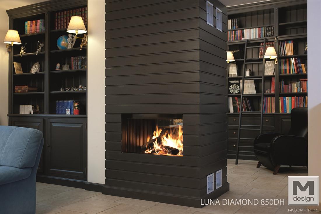 Foyer M Design Luna : M design diamond tunnel feu art tisons sa rossens