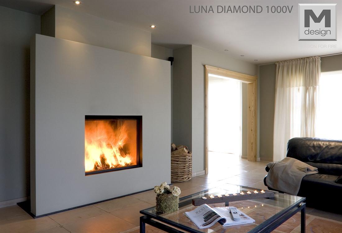 m design diamond vertical feu art tisons sa rossens canton de fribourg. Black Bedroom Furniture Sets. Home Design Ideas